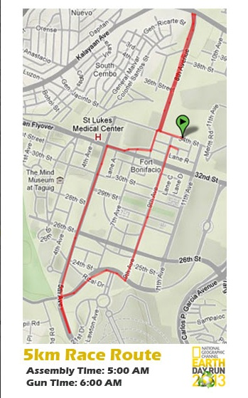 nat-geo-earth-day-run-2013-5k-route-map