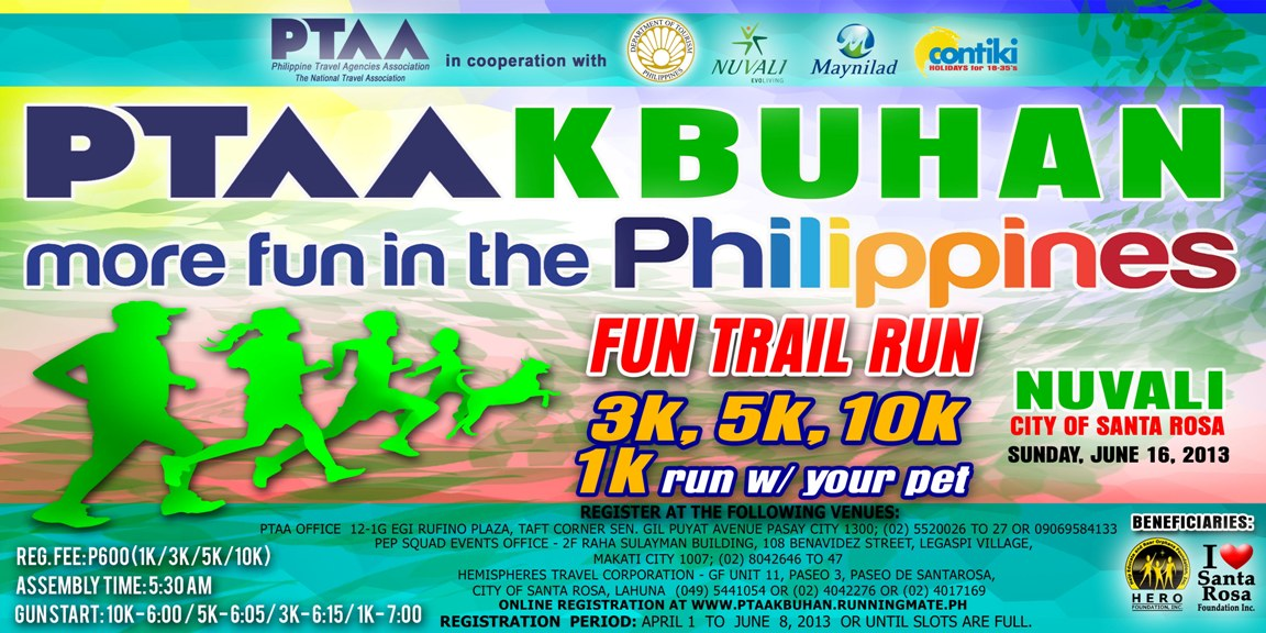 PTAAKbuhan Trail Run 2013 Results and Photos