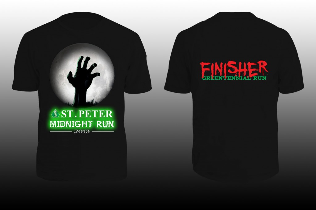 SHIRT - midnight run 2013
