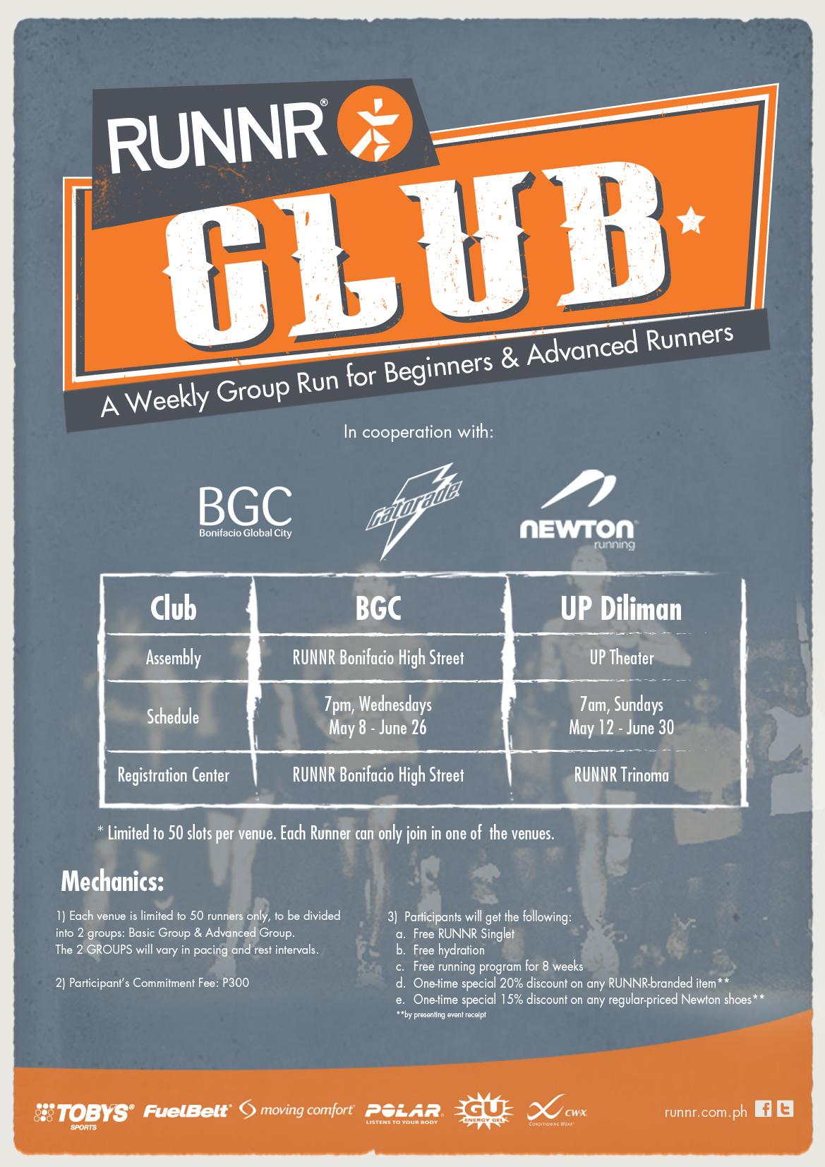 runnr-club-poster-design
