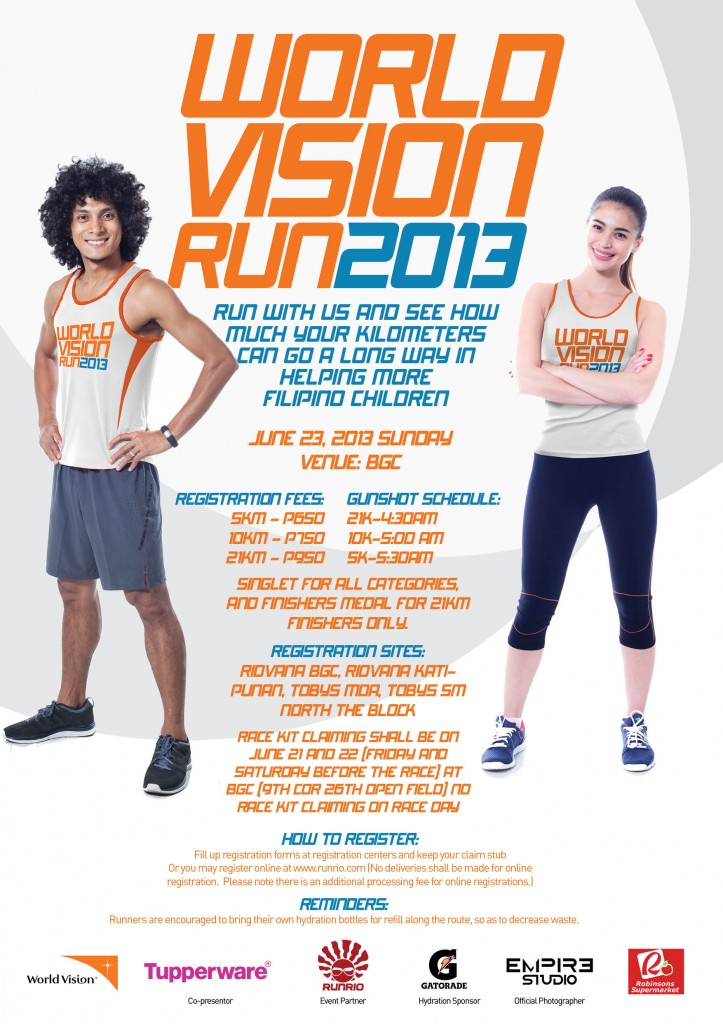 world vision run 2013 race results and photos