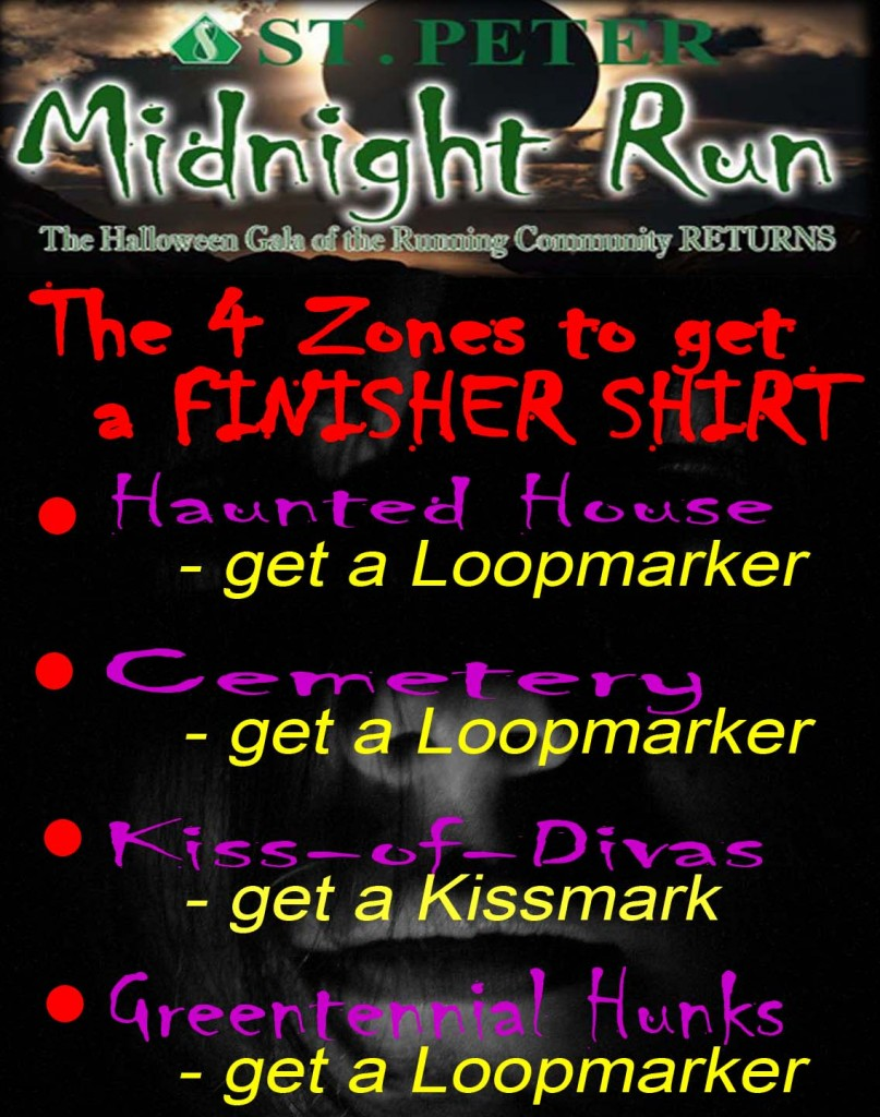 zones - midnight run 2013