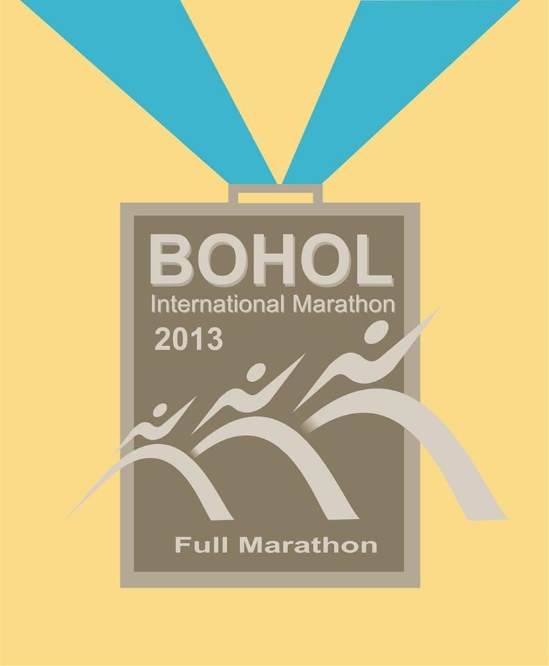 Bohol Marathon 2013 Medal