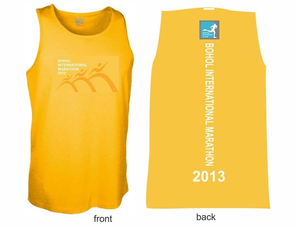 Bohol Marathon 2013 Singlet
