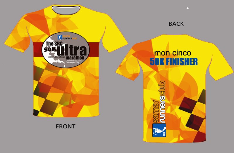 src-50k-ultramarathon-samar-finisher-shirt-design