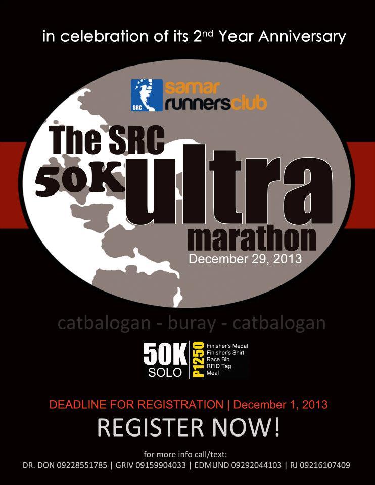 src-50k-ultramarathon-samar-poster