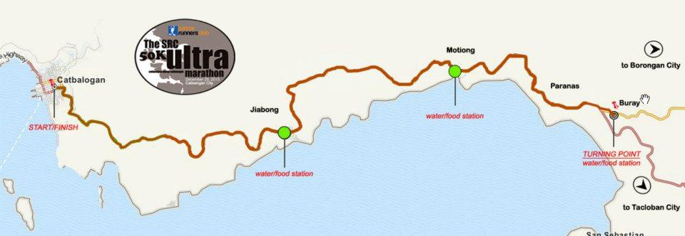 src-50k-ultramarathon-samar-route-map