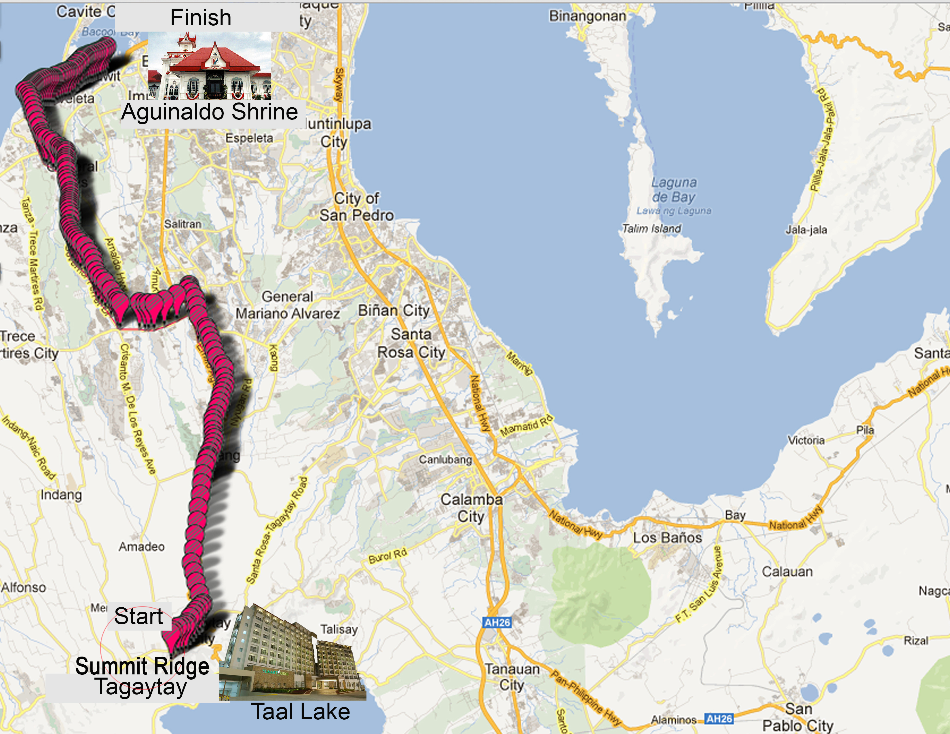 tagaytay-to-kawit-50k-ultramarathon-2013-route-map