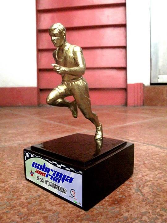 caliraya-360-run-2013-trophy-design