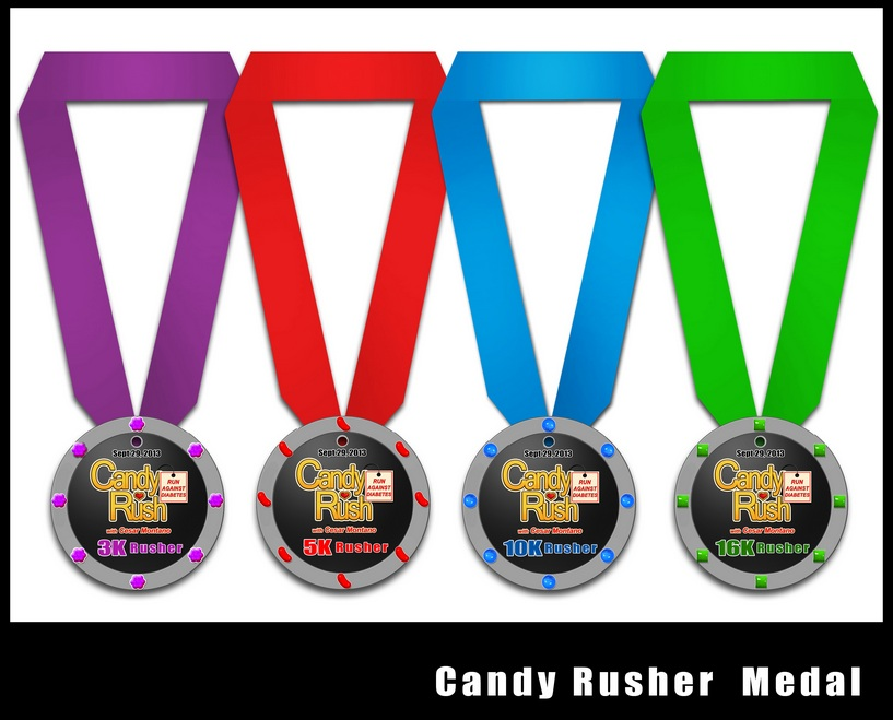 candy-rush-2013-medal-design