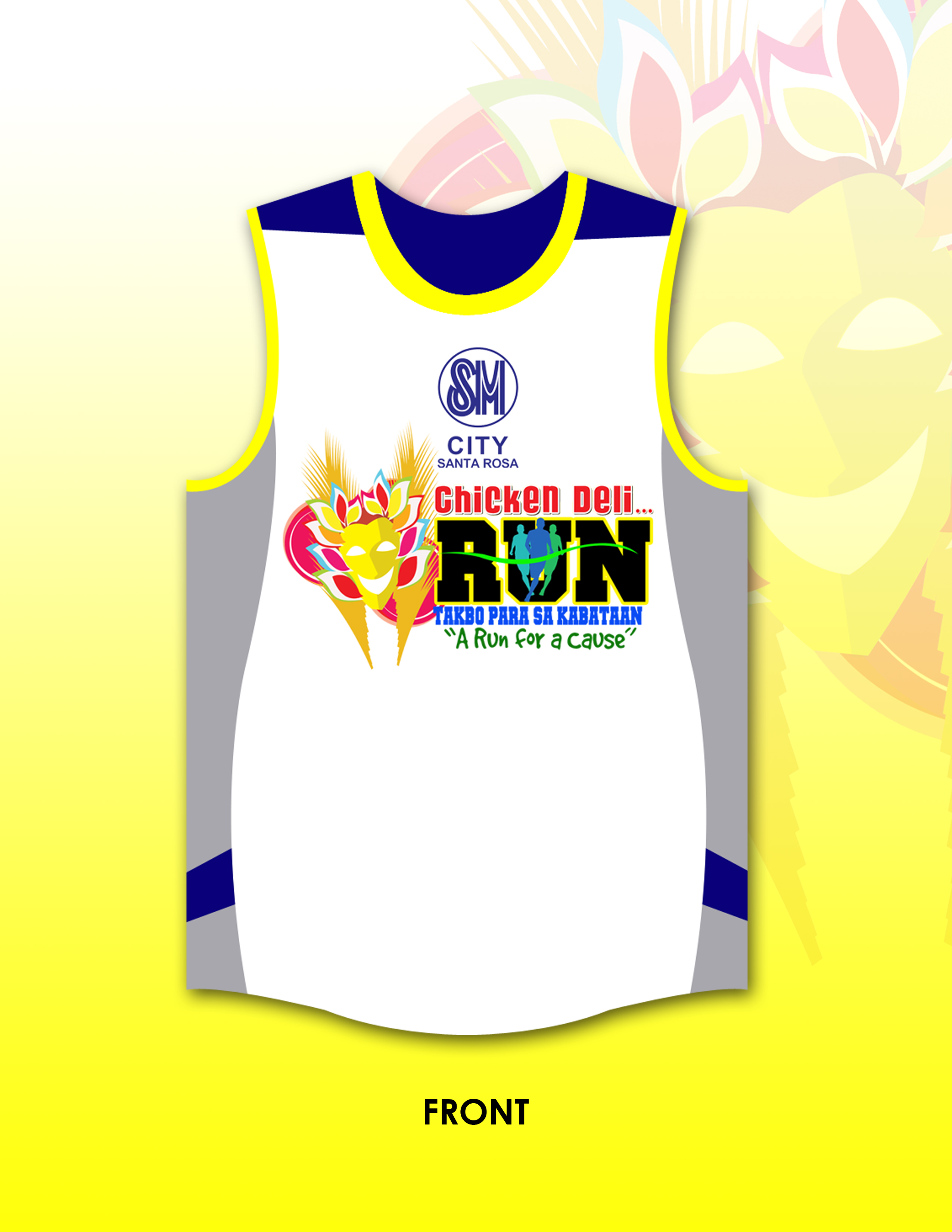 chicken-deli-run-2013-singlet-design