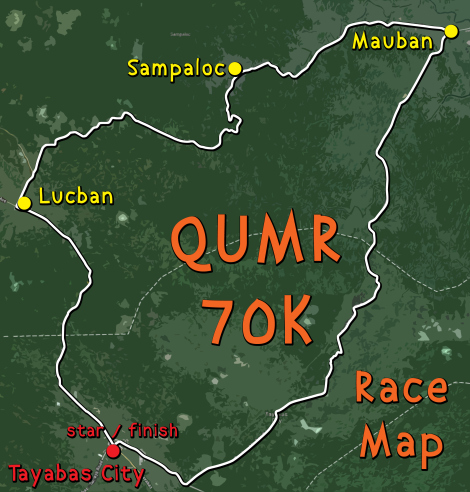 quezon-day-70k-ultramarathon-route-map