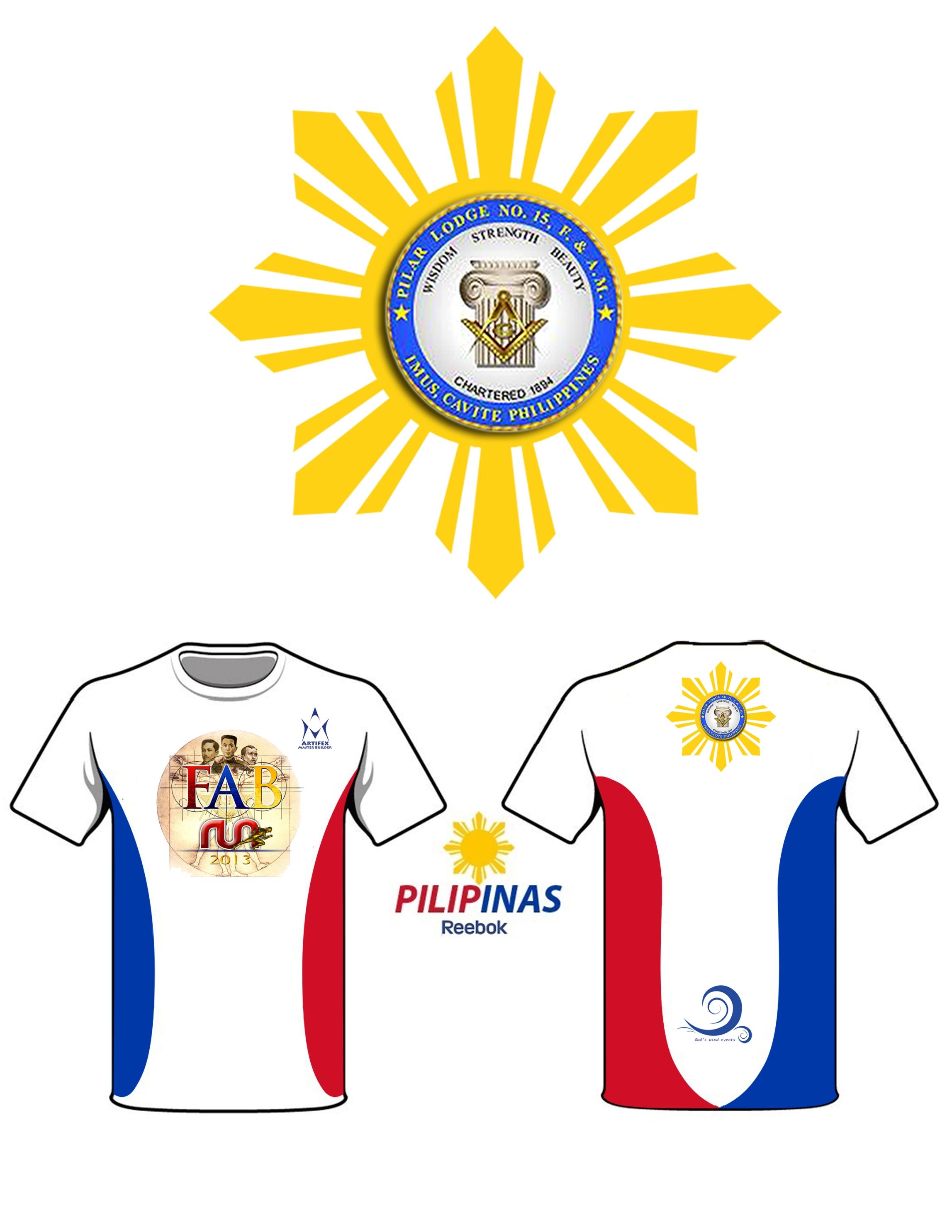 Fab run 2013 daang reyna las pinas pinoy fitness for Tech shirts running wholesale