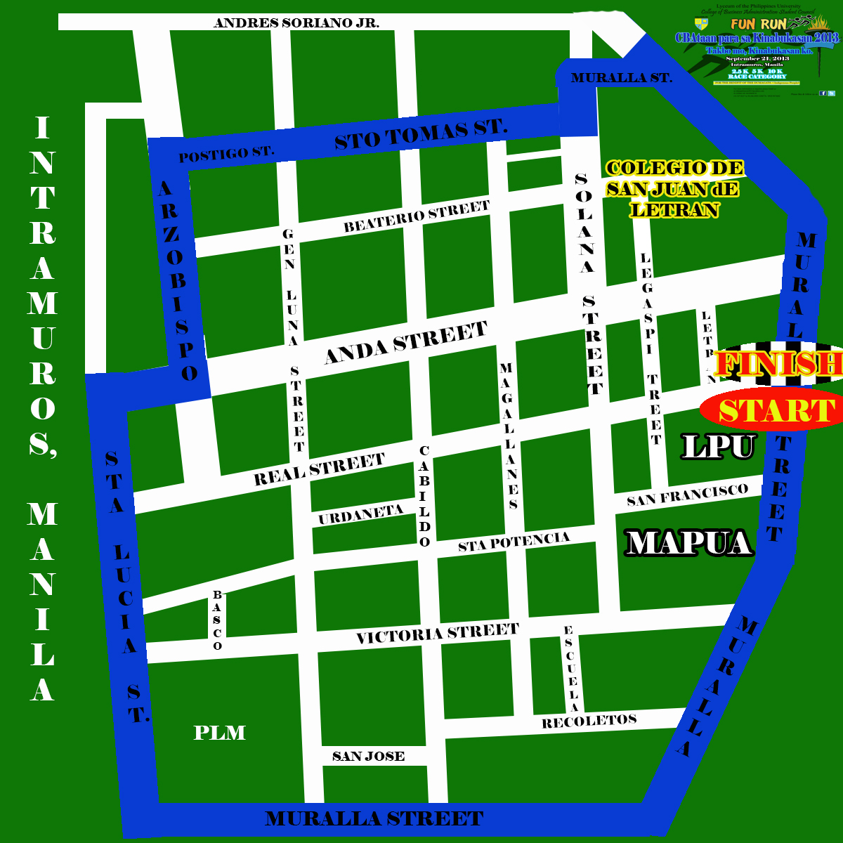 cbataan-run-2013-route-map