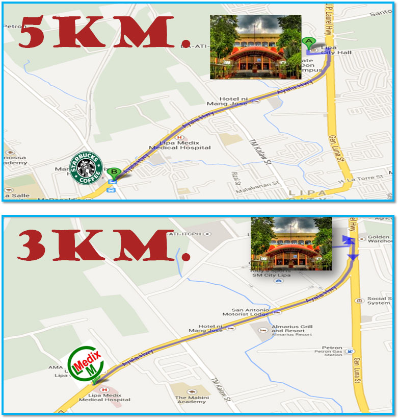 lipa-city-half-marathon-2013-route-map-3k-5k