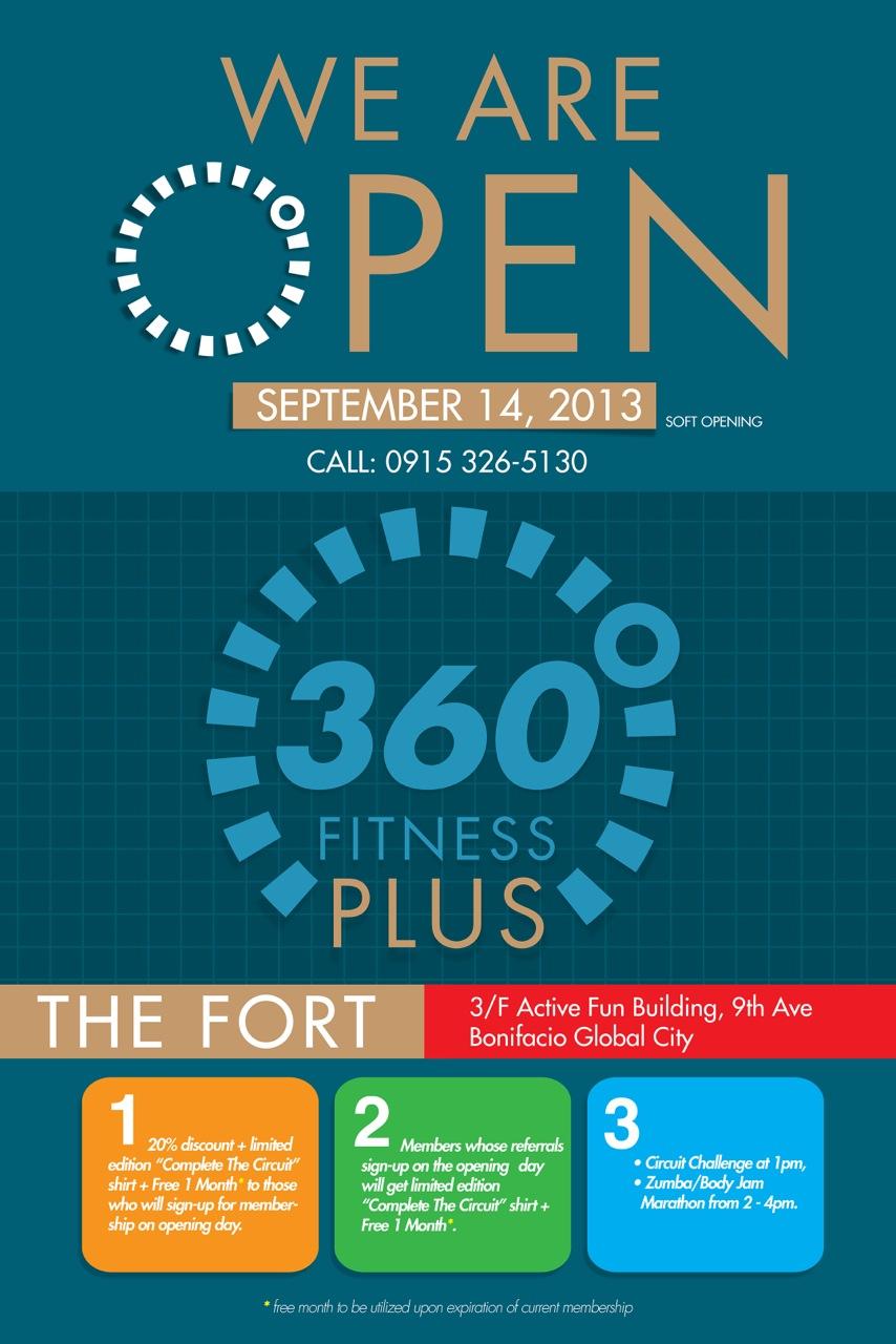 360 Fitness Plus Club invades BGC | Pinoy Fitness