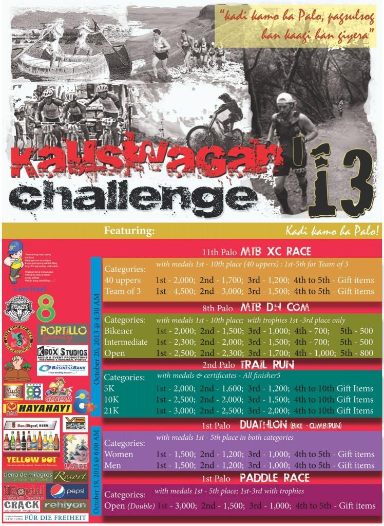 Kauswagan Challenge 2013 POster