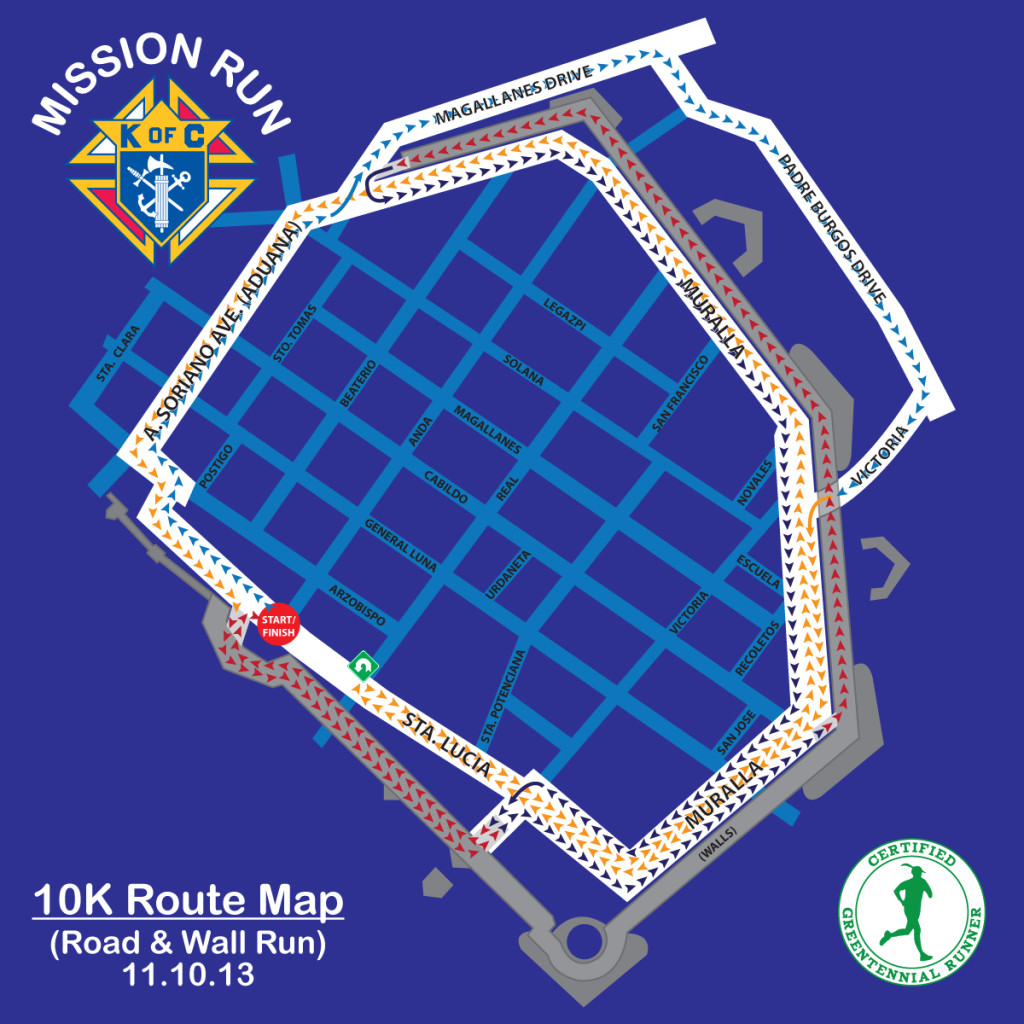 Mission Run Map 10K (1)