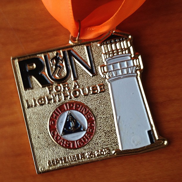 Run for a Lighthouse 2013 medal finish