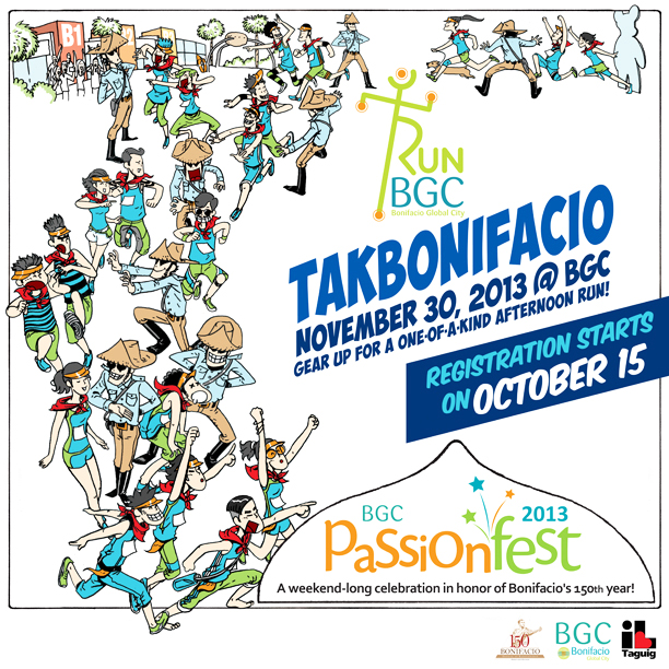Takbonifacio 2013 poster