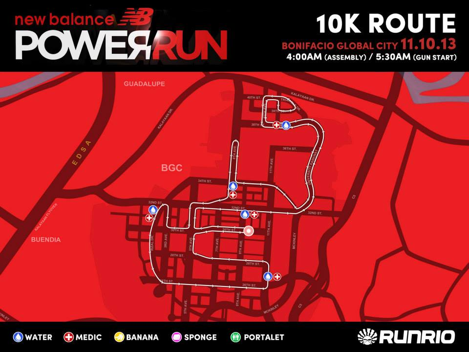 new-balance-power-run-2013-10K-route