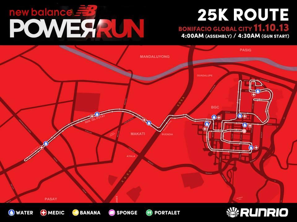 new-balance-power-run-2013-25K-route