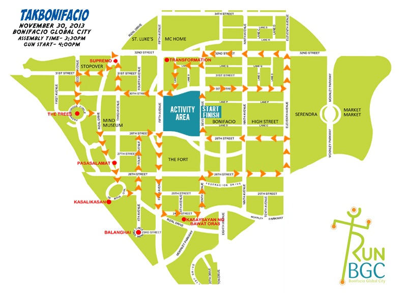 route-map-for-online-run-bgc-2013