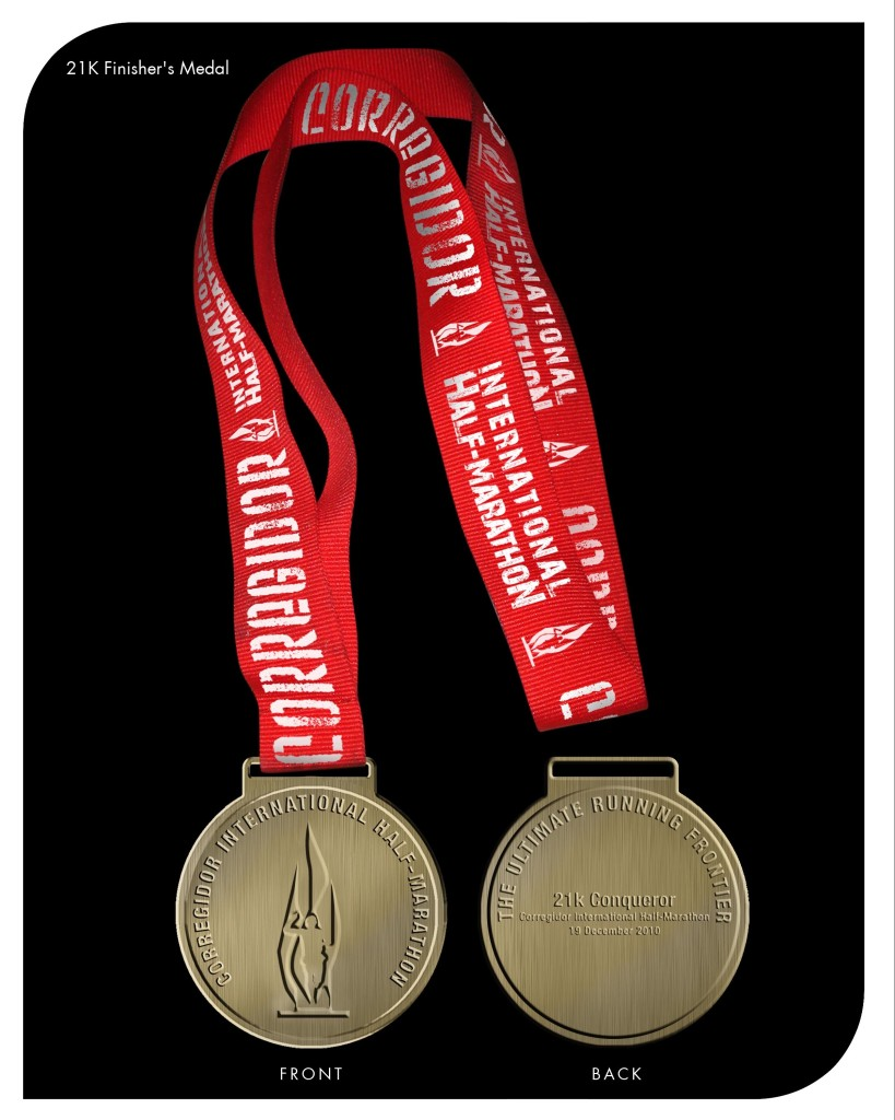 CIHM 21K Finisher's Medal