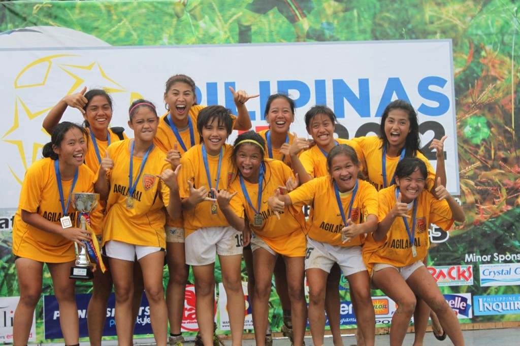 Pilipinas Cup 2012 Girls Champions