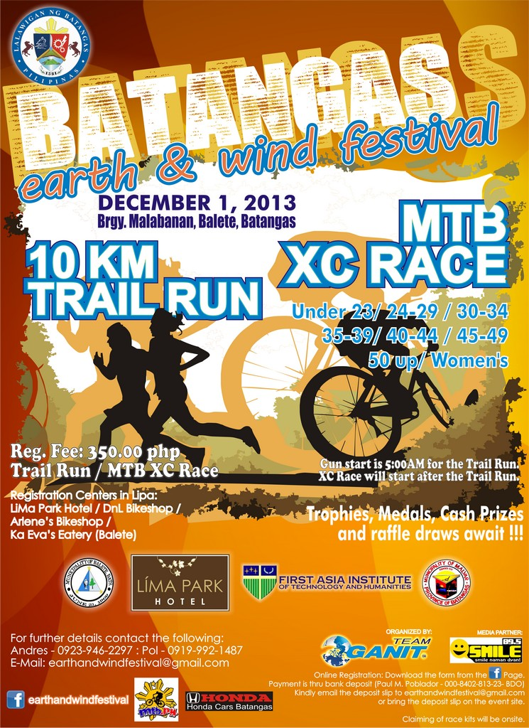 10km-trail-run-batangas-earth-and-wind-festival-2013-poster