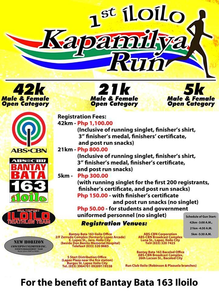1st-iloilo-kapamilya-run-2013-poster