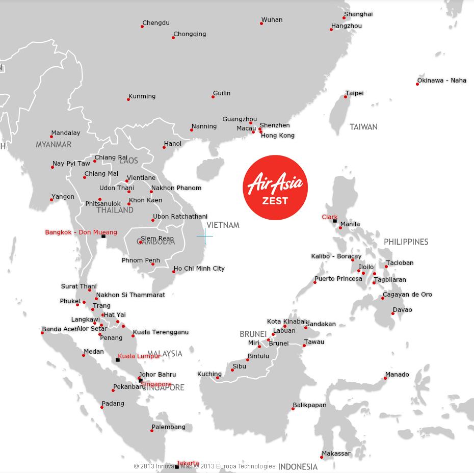AirAsia-International-Map
