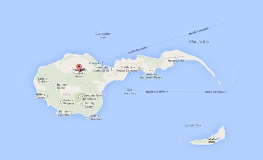 corregidor-marathon-map