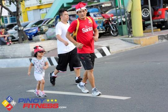 Santa Run Philippines 2013