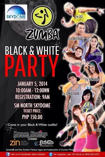 zumba-black-and-white-party-2014-poster