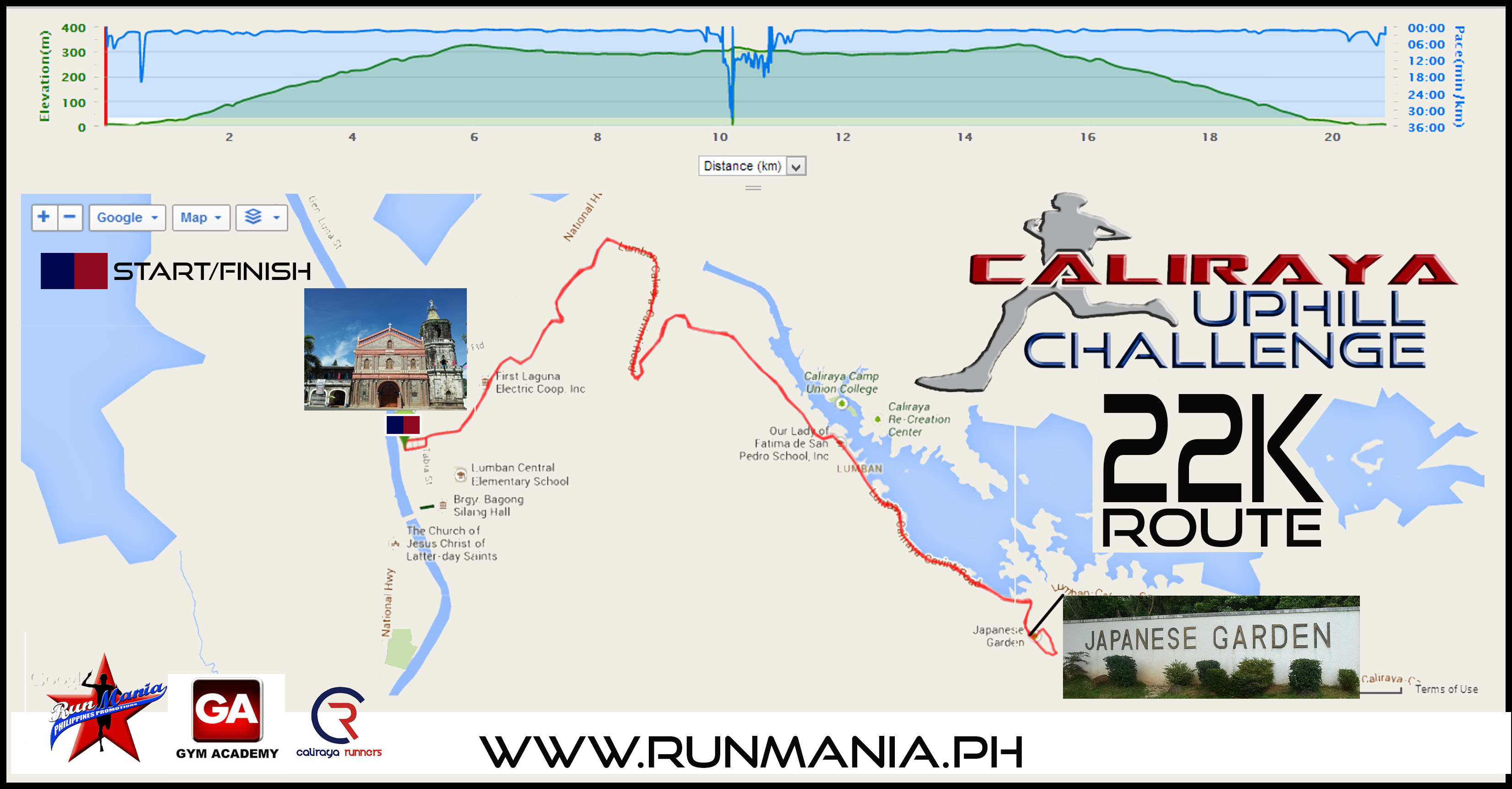 Gym-Academy-(GA)-Caliraya-Uphill-Challenge-route-map