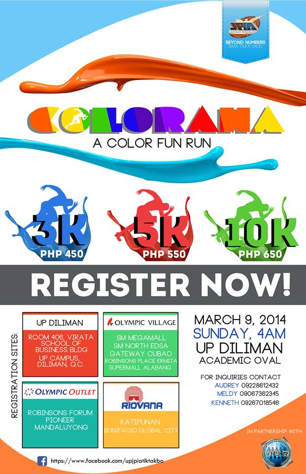 Colorama A Color Fun Run Poster Pinoy Fitness