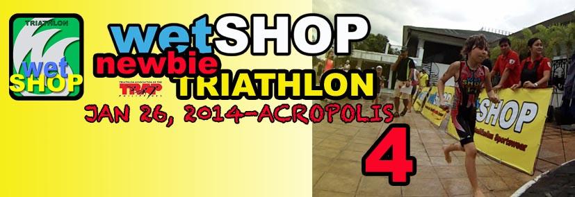 wetshop-newbie-triathlon-4-2014-poster
