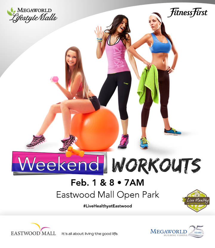 Eastwood Weekend Workouts 2014 poster