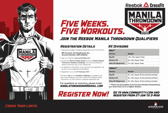 Manila Throwdown Qualifiers Poster 2014