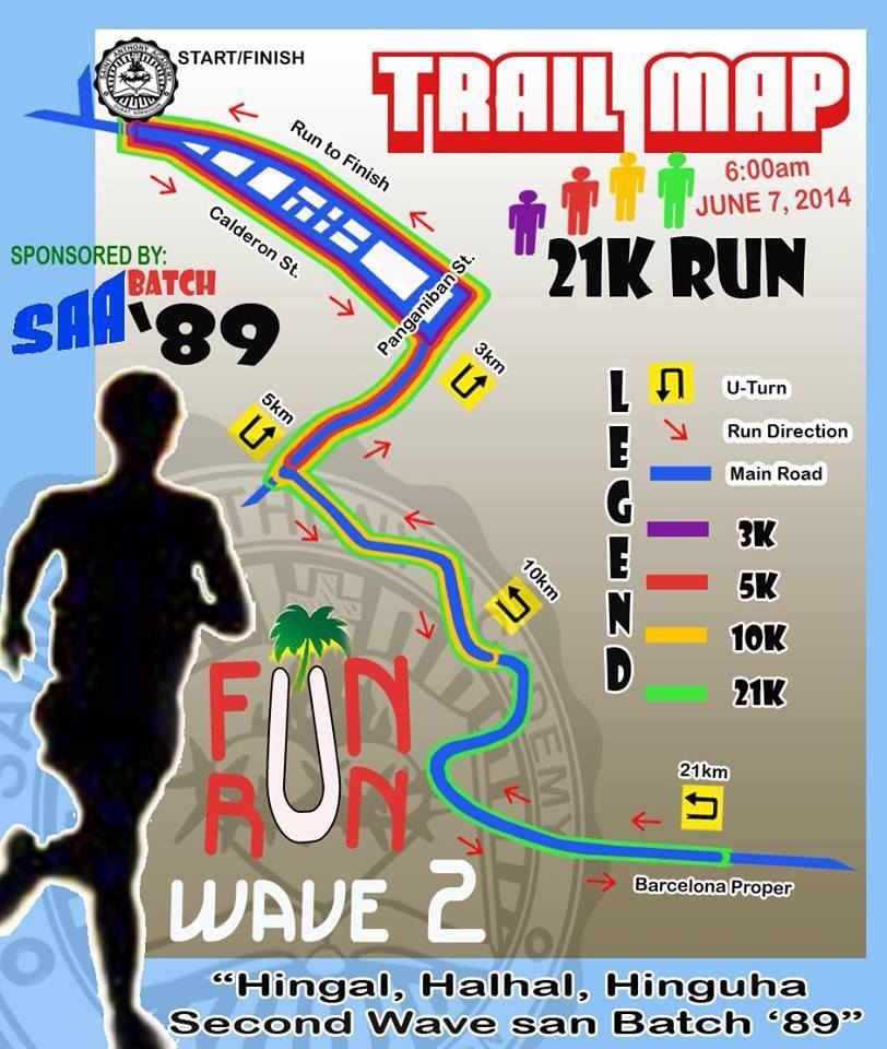 SAA-batch-89-fun-run-2014-route-map