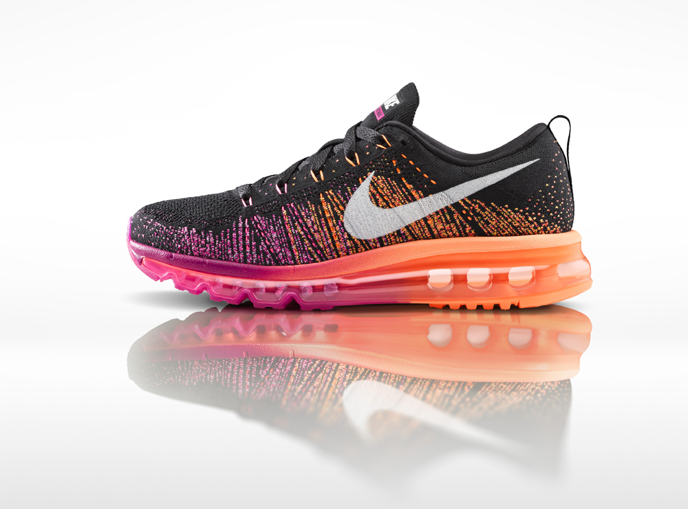 deb9a1cde0cd Experience Ultimate Fit and Comfort with the new Nike Flyknit Air Max