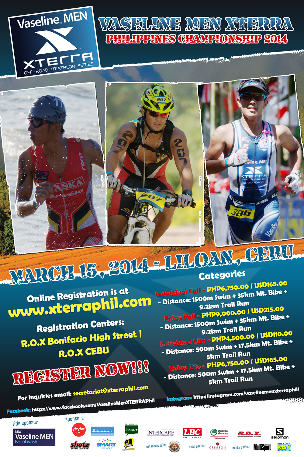 vaseline-men-xterra-off-road-triathlon-2014-poster