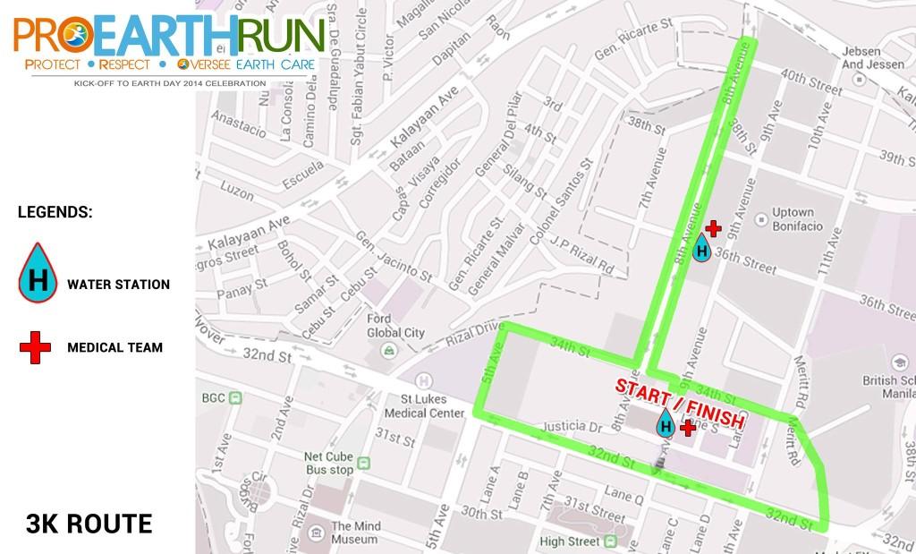 3K Route