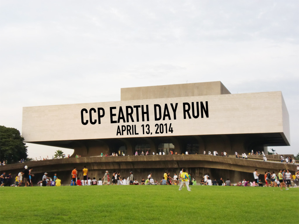 CCP Earth Day Run 2014 Poster