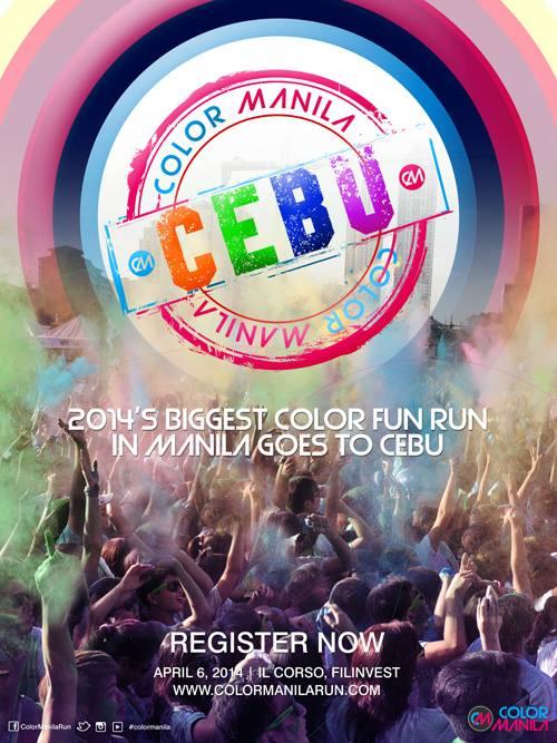 Color Manila Cebu 2014 Poster