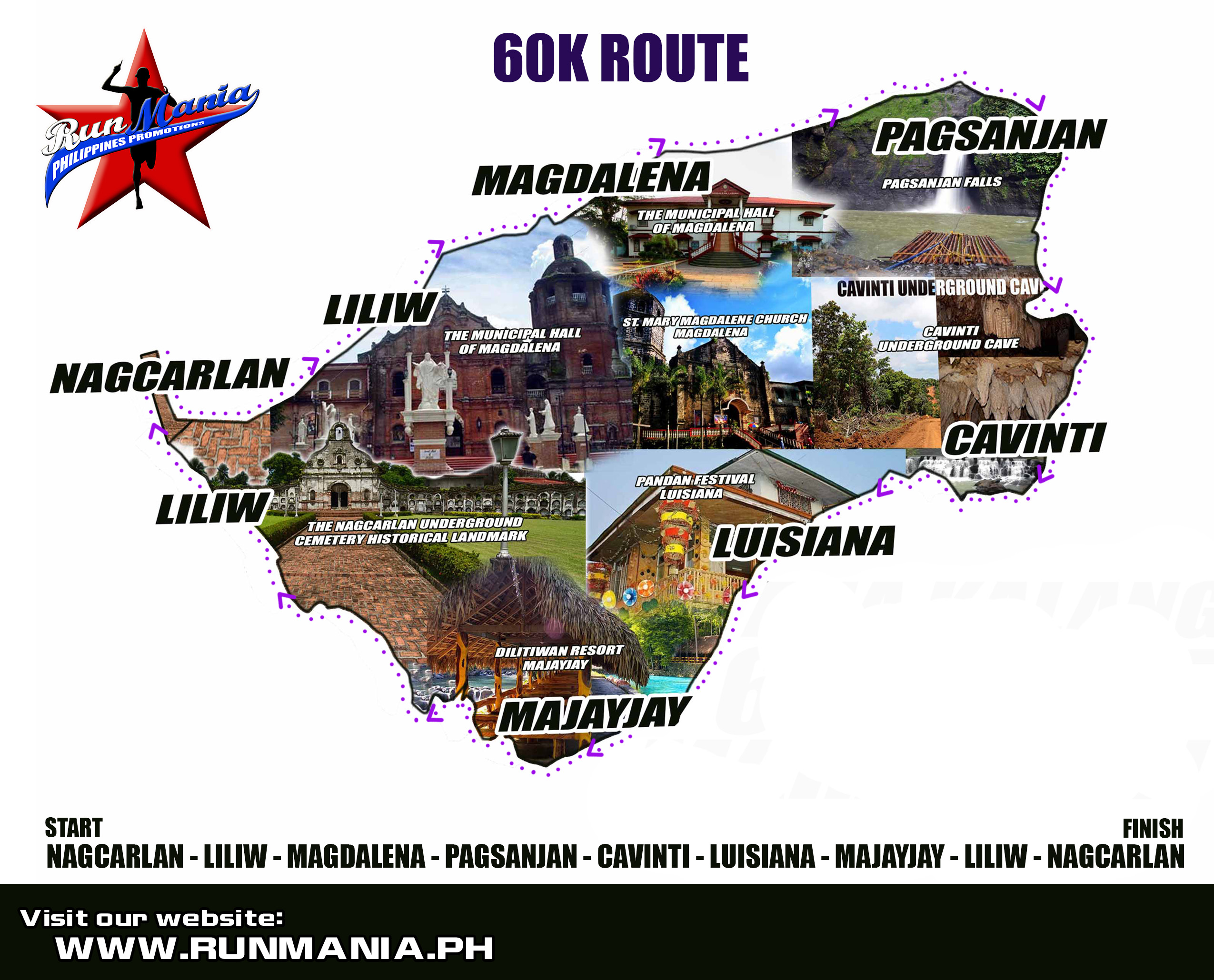 ana-kalang -60K-ultra-marathon-2014-route-map