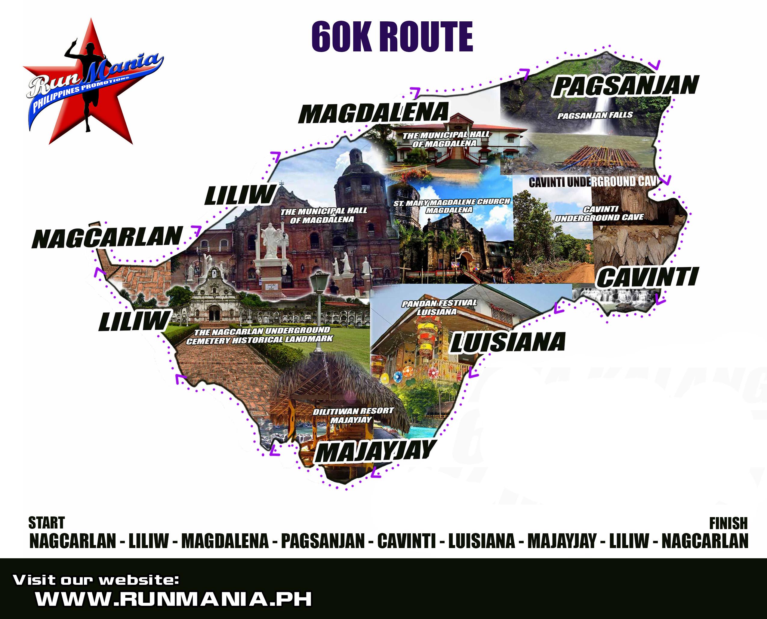 ana-kalang -60K-ultra-marathon-2014-route-map