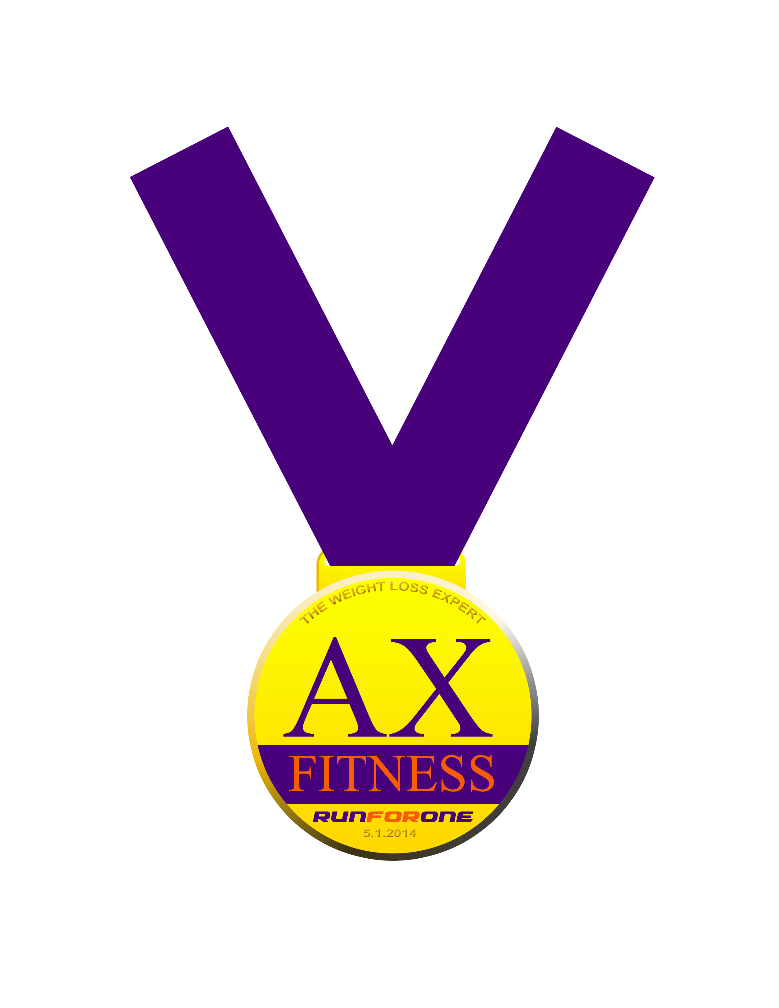 ax-fitness-run-for-one-2014-medal
