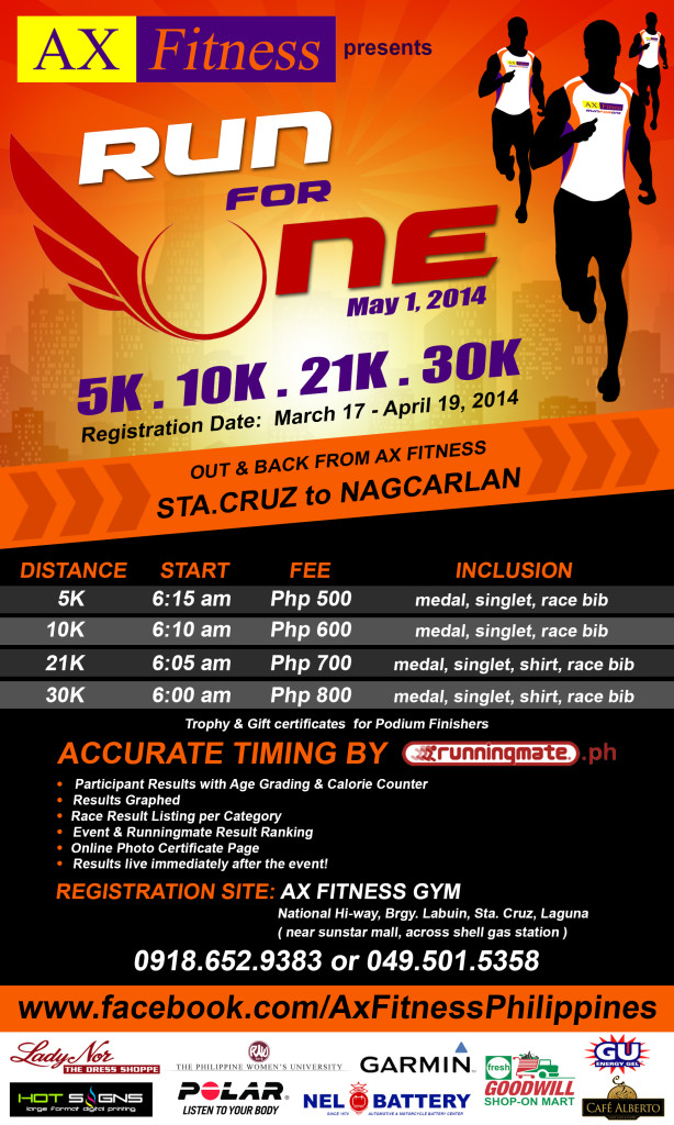 ax-fitness-run-for-one-2014-poster